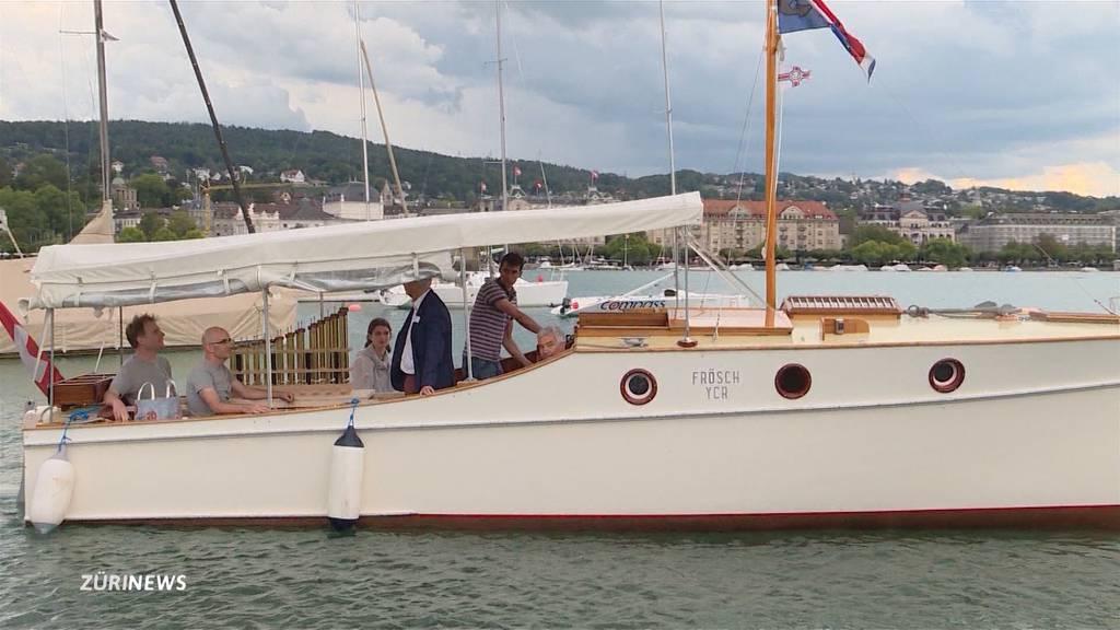 Orgel-Flöte kommt per Schiff in die Zürcher Tonhalle
