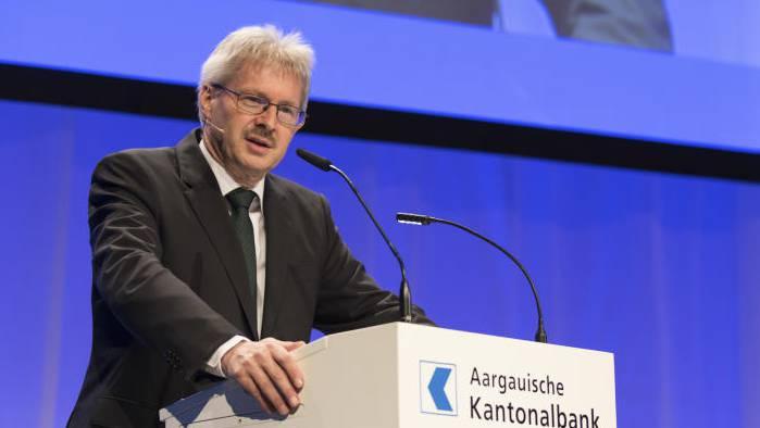 Der Gewerbeverband-Präsident Kurt Schmid verkündete die Erneuerung des Vorstandes.