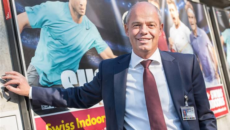 Patrick Ammann sorgt das ganze Jahr über dafür, dass die Swiss Indoors durchgeführt werden können.