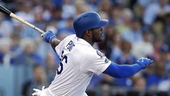Yasiel Puig ist einer der kubanischen Baseballer, der sich illegal aus der Heimat absetzte, um in der besten Liga der Welt (MLB) spielen zu können.