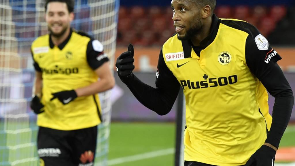 Jordan Siebatcheu (rechts) könnte in Leverkusen YBs Schlüsselspieler werden