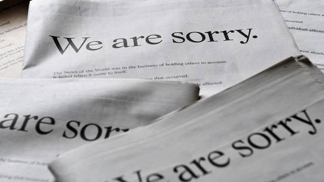 Murdoch bemüht sich um Schadensbegrenzung und entschuldigt sich