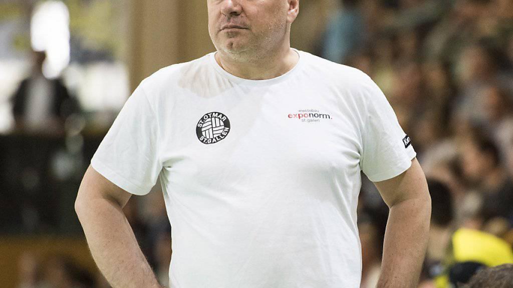 Predrag Borkovic mit St. Otmar auf gutem Weg Richtung Achtelfinals