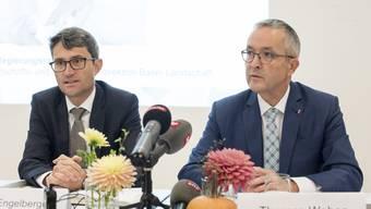 Lukas Engelberger und Thomas Weber (Archiv)