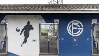 Eingang zum Stadion Brühl des FC Grenchen.