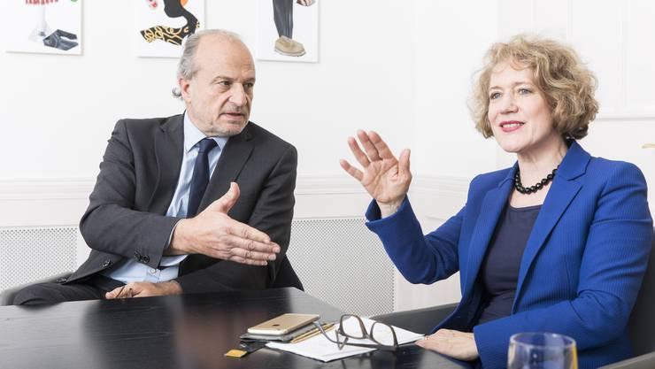 Die Zürcher Stadtpräsidentin Corinne Mauch kam als einzige auch nur in die Nähe der Genfer Spesendimension.