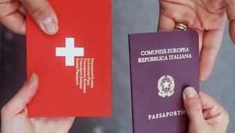Viele Ausländer wollen Schweizer werden