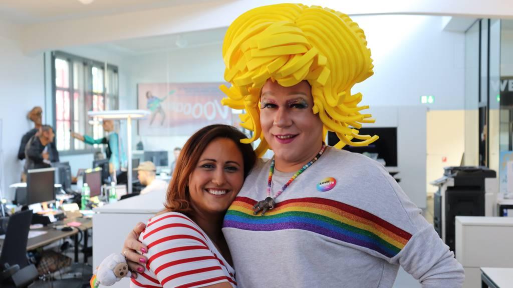 Zurich Pride: Livetalk mit Gossipa
