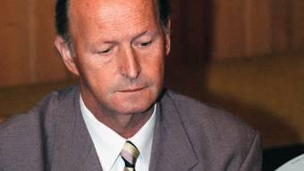 Peter Hänggi aus Nunningen war der letzte Schwarzbube in Bern. Er sass bis 1991 im Nationalrat und wurde dann Solothurner Regierungsrat.  (Archiv)