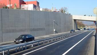 Am 11. Dezember 2013 wurde die A22 feierlich eröffnet. (Archiv)