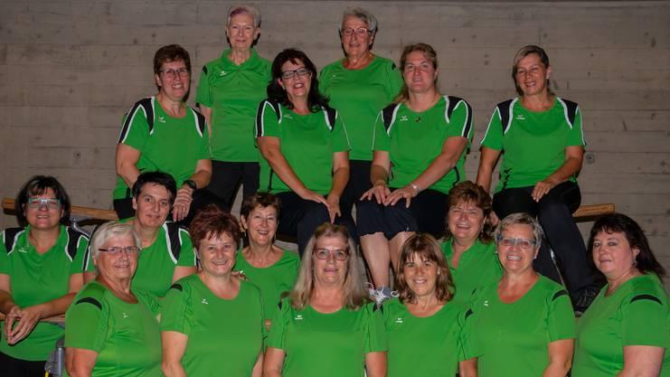 Frauenturnverein Endingen: Vereinsmitglieder 2019.