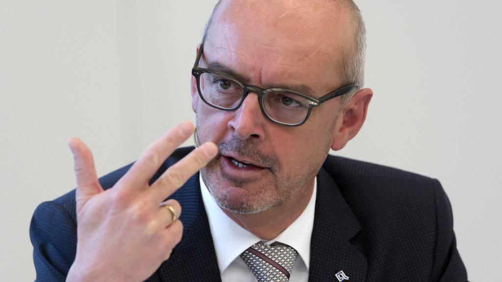 Baloise-Chef Gert De Winter: «Wir können sehr zufrieden mit der operativen Leistung des ersten Halbjahrs sein.» (Archiv)