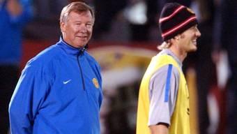 Hatten das Heu nicht immer auf gleicher Bühne: Ferguson und Beckham zu gemeinsamen United-Zeiten