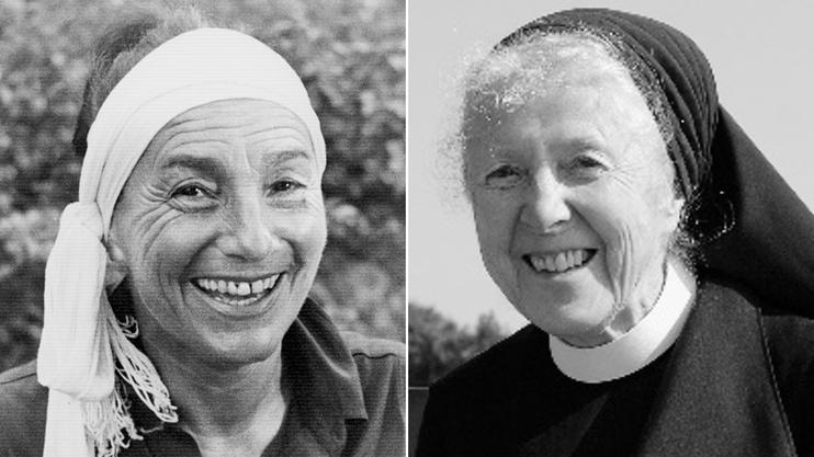 Während Tänzerin Susana (links) Weltkarriere machte, lebte Silja Walter als Schwester Hedwig im Kloster Fahr.
