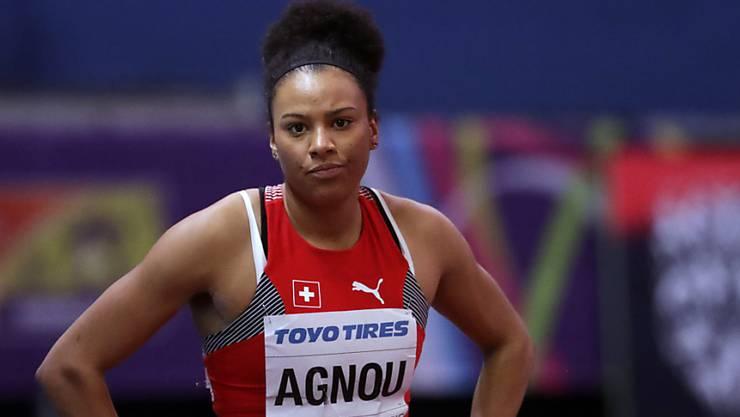 Für Siebenkämpferin Caroline Agnou ist die Saison 2018 bereits vorbei.