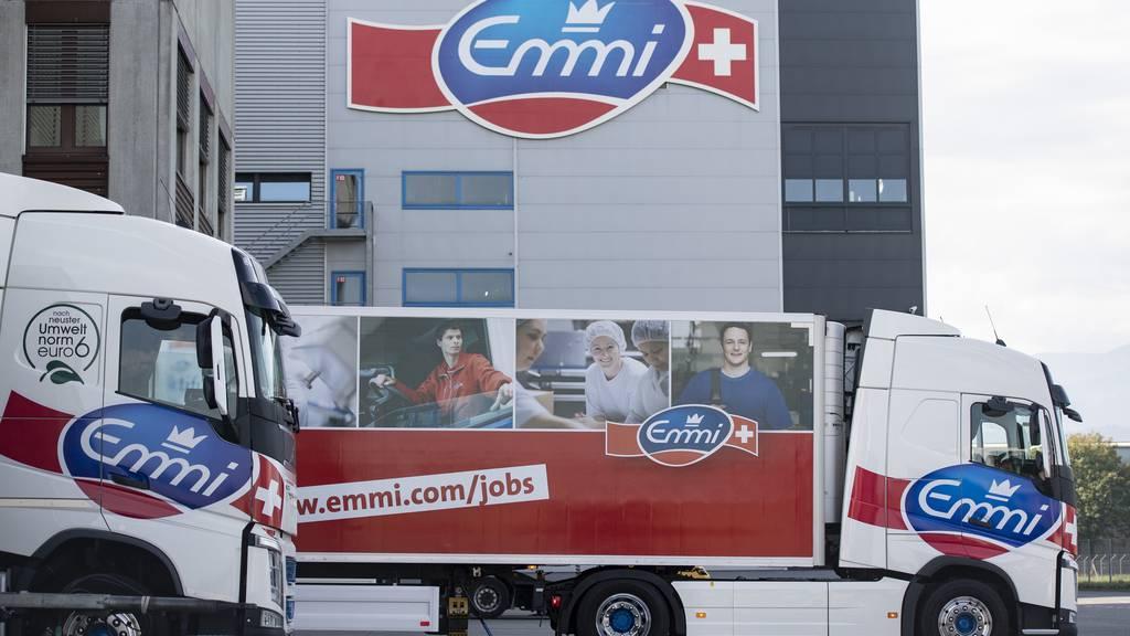 Emmi glänzt in der Schweiz