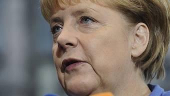 Steht in Brüssel den Medienschaffenden Rede und Antwort: Bundeskanzlerin Angela Merkel