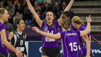 Prestigesieg für die Volleyballerinnen von Volero