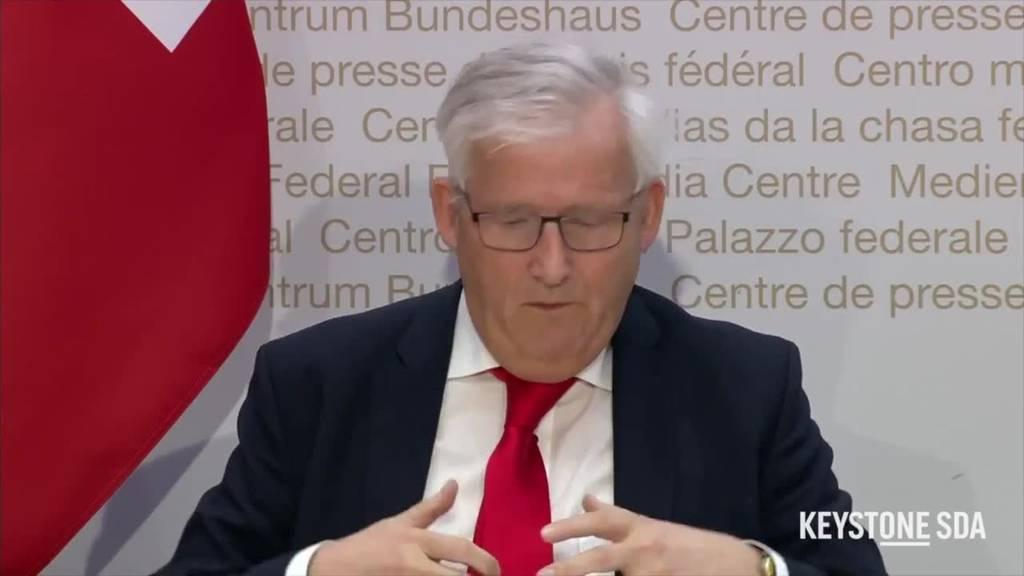 Ausserordentliche Session: Parlament trifft sich ab 4. Mai auf Berner Messegelände