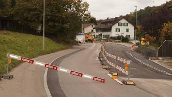 Überall in der Region entstehen zurzeit neue Strassen oder wurden solche eingeweiht. So zum Beispiel in Ammerswil.