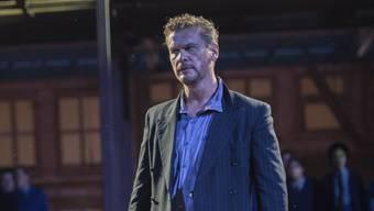 Peter Bernhard als Manrico bei einer Probe in Schinznach. Ingo Höhn/ho