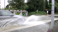 Wasserrohrbruch