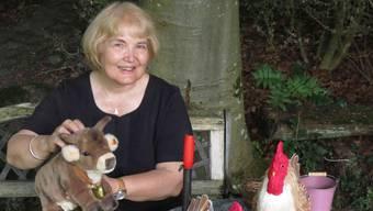 Mit Maria Richner tauchen Kinder und Erwachsene in die Märchenwelt ein.