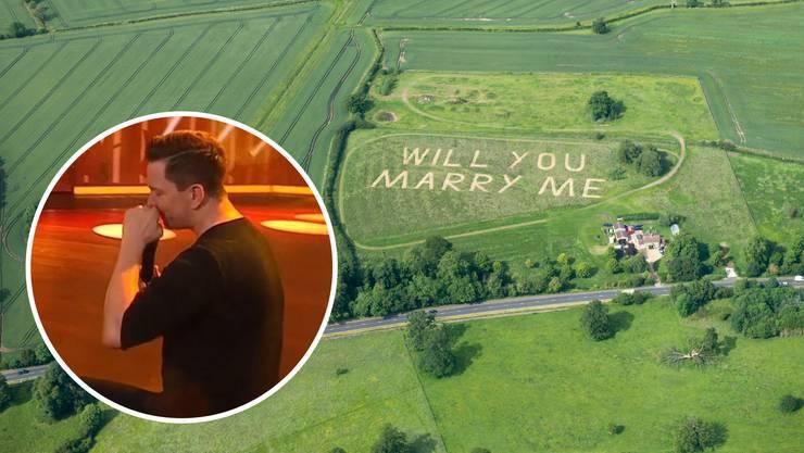 Gras ist unschuldig. Und die Botschaft hier auch nicht einsehbar für alle Augen. Aber warum genügen dafür nicht vier Augen..