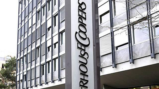 Geschäftsstelle von PricewaterhouseCoopers in Basel (Archiv)