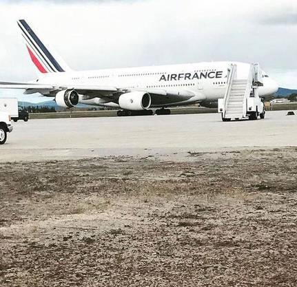Das Flugzeug landete sicher, niemand wurde verletzt
