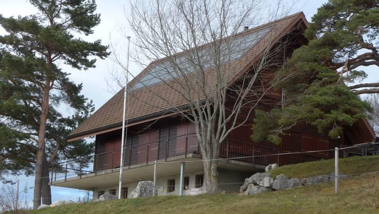 Das Bürgerhaus Roggen ist innen wie auch aussen sanierungsbedürftig.