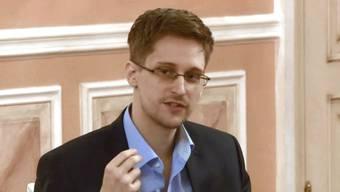 Edward Snowden hat wieder eine Twitter-Nachricht gepostet. (Archiv)