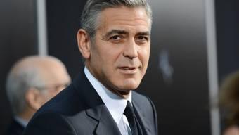 George Clooney werden Romanzen angedichtet (Archiv)