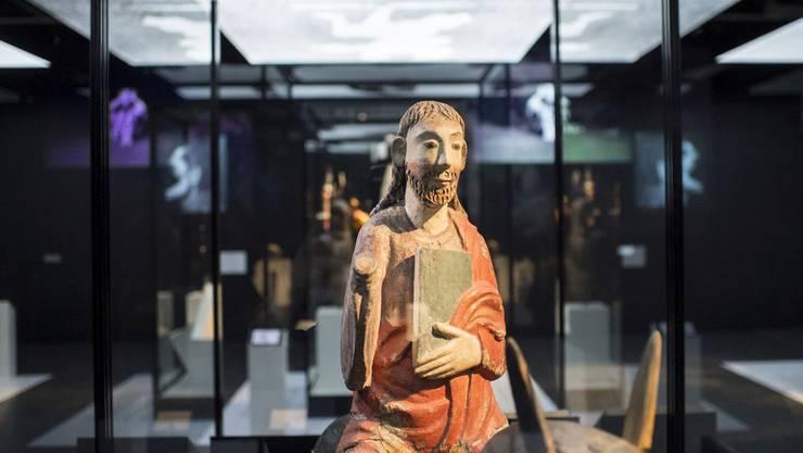 «Christus auf Palmesel» um 1055 – zu sehen im Schweizerischen Nationalmuseum in der Ausstellung «Dada Universal»