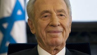 Schimon Peres nimmt den Iran ins Visier (Archiv)