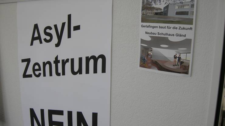 Asylzentrum Nein - Gerlafinger wehren sich