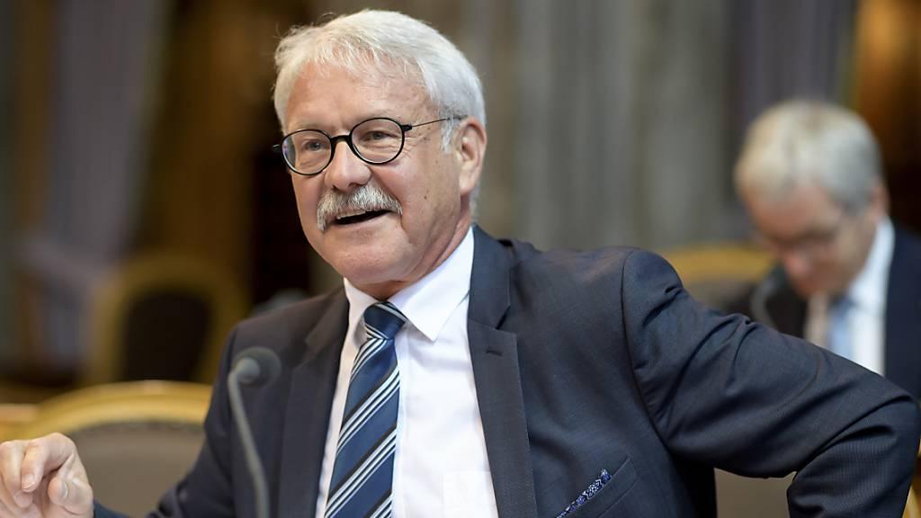 «Mediale Verwüstung verhindert»: Der Freiburger CVP-Ständerat Beat Vonlanthen in der Ratsdebatte zu Vorstössen zu den Standorten der SRG. (Archivbild)