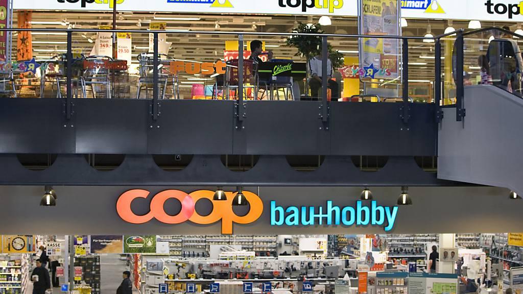 Coop setzt im Bereich Baumarkt künftig auf die Marke Jumbo