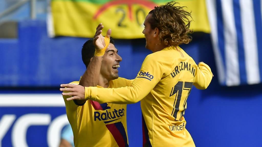 Barcelonas Offensive kommt in Fahrt