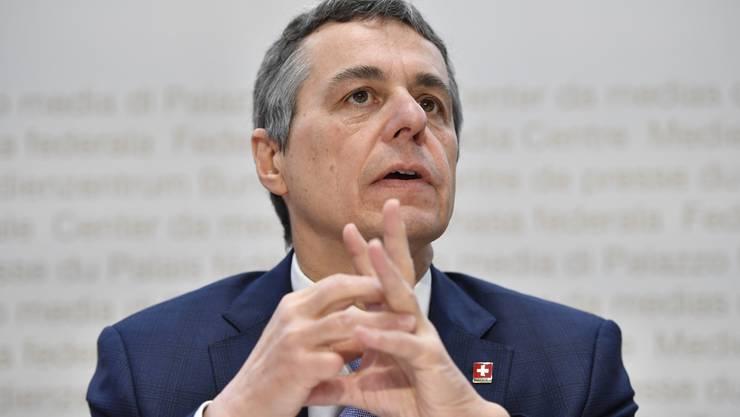 Bundesrat und erfahrener Präventionsmediziner: Ignazio Cassis.
