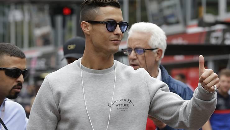 Cristiano Ronaldo wird mit Portugal gegen die Schweiz antreten