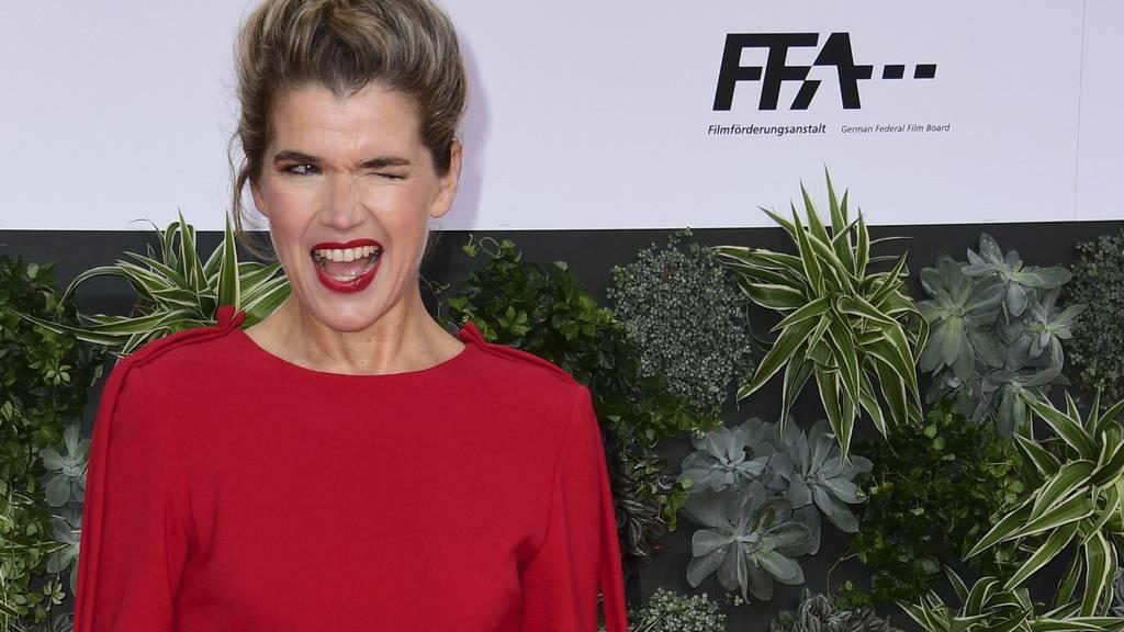 Schauspielerin und Komikerin Anke Engelke wird in «Das letzte Wort» eine Trauerrednerin spielen.