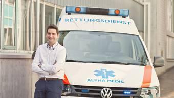 Jean-Claude Furegati kämpft um den Marktzugang für seine Alpha Medic. zvg