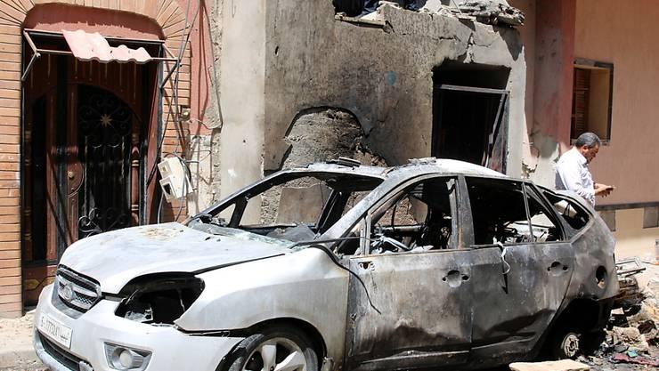 Aus der libyschen Hauptstadt Tripolis werden verstärkte Kampfhandlungen in der Nacht auf Sonntag gemeldet. (Archivbild)