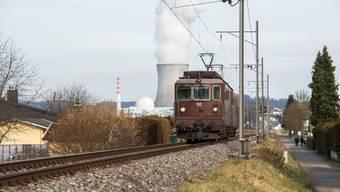 Derzeit fahren auf der Rheintallinie nur Güter- und Servicezüge. Dies soll sich wieder ändern.