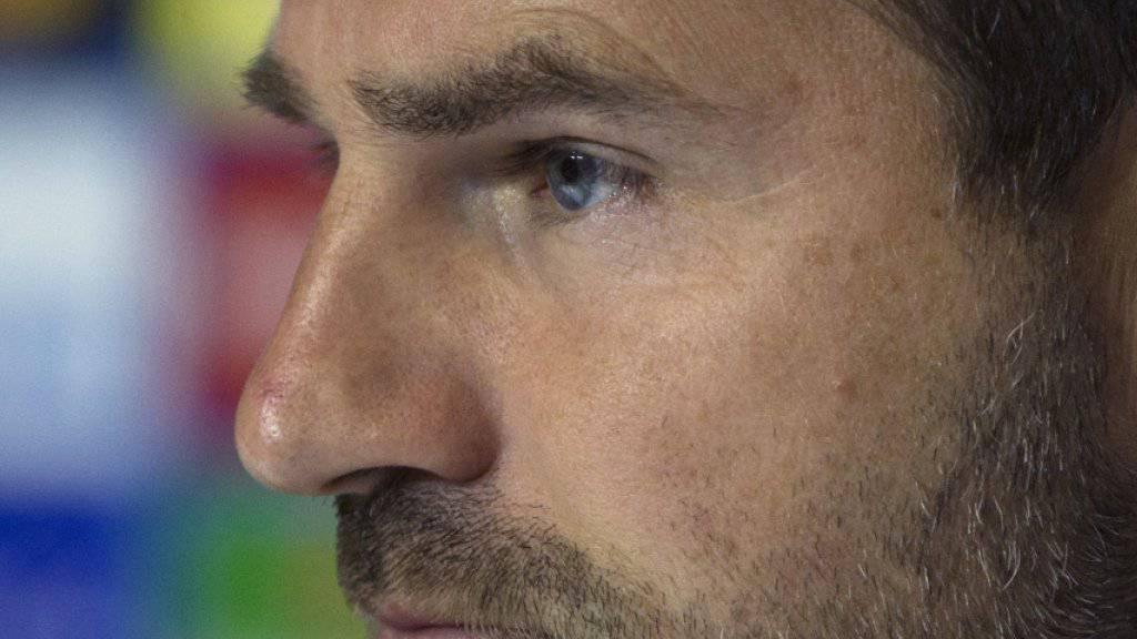 Unter Verdacht: Brügges Trainer Ivan Leko musste die Nacht auf Donnerstag im Gefängnis verbringen