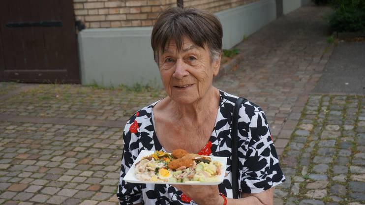 Gertrud Hertel, 81, Schlieren