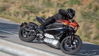 Born to be quiet: Bei der Live Wire gehört das typische Rattern der Harley-Davidson der Vergangenheit an.