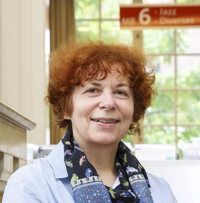 Verena Bider, die Direktorin der ZBS.