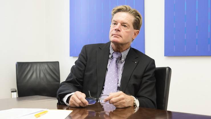 Immer diese Abstimmungen: Gewerbedirektor Gabriel Barell. (Archivbild)